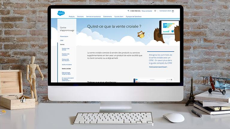 Qu'est-ce que la vente croisée ? - Salesforce France